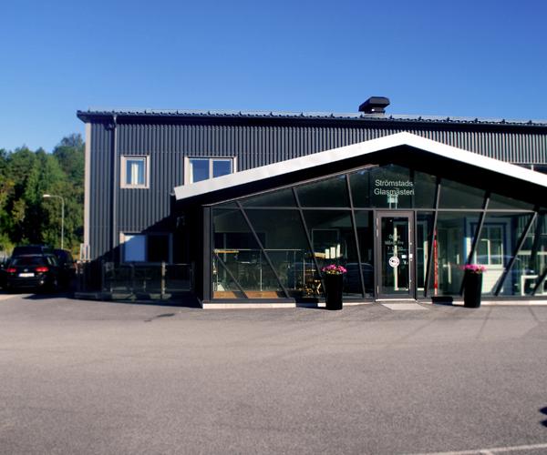 hitta hit Strömstads glasmästeri